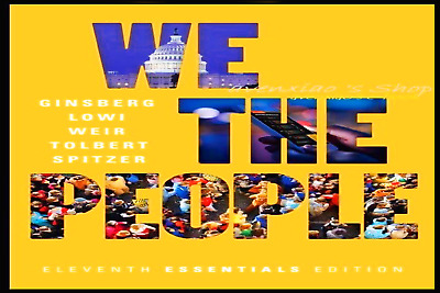 We the People 11th Edition  (PDF only)  Edition Benjamin Ginsberg