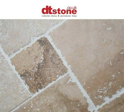 Classic Cream Travertine Mosaic Brick style  sheet size 305x295x10 natural stone