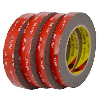3M™ VHB™ BLACK Double Sided Acrylic Foam Adhesive Heavy Duty Mounting Tape 20mm