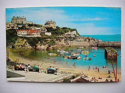 Newquay, The Harbour.