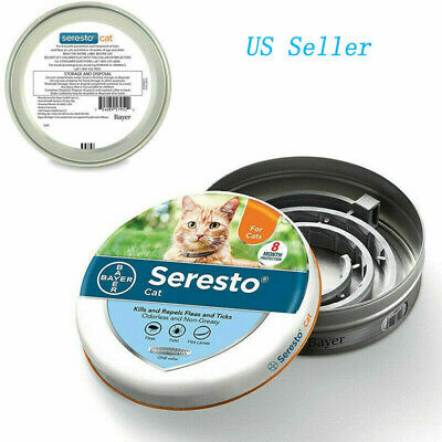 Seresto Flea and Tick Collar For Pets Cat Protection 7-8 months Anti Insect US