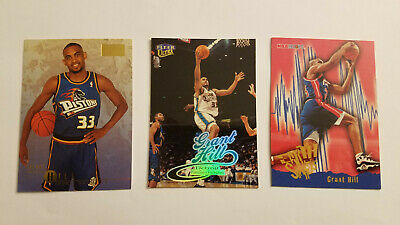 1995 96 Nba Hoops Skybox Grant Hill Co Rookie Of The Year Free Sh