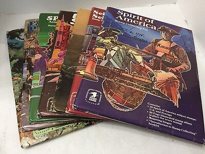 Vintage USPS Stamp Collecting Kit - Lot of 7 Different Kits Never Opened
