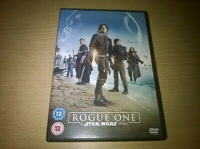 Rogue One A Star Wars Story Felicity Jones Diego Luna Genuine R2 DVD VGC