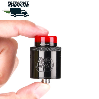 Authentic Hellvape Dead Rabbit BF RDA Tank with Gold Plated post Build Deck