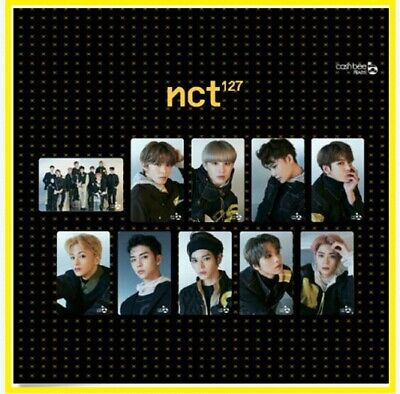 NCT 127 We Are Super human CASHBEE Photo card SM TOWN Official Goods CASH BEE