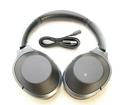 Sony WH-1000XM2 Wireless Bluetooth Noise Canceling Stereo Headphones Black