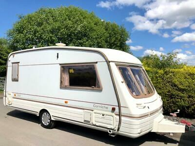 Swift Corniche 2 Berth Caravan With Awning - Lightweight Caravan