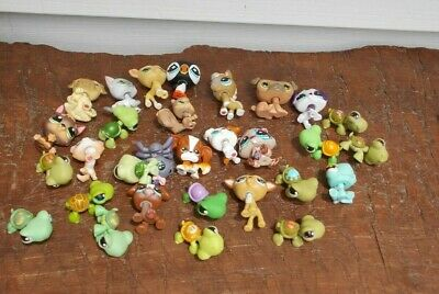 The Littlest Pet Shop Lot of Pets Figures Toys LOT HASBRO FREE SHIPPING