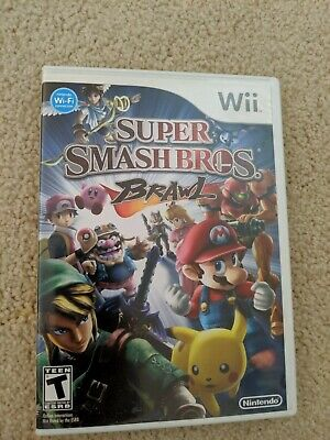 Super Smash Bros. Brawl ~ Nintendo Wii ~ Complete ~ Tested ~ Free Shipping ~
