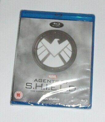 Marvels Agents Of Shield Season 3 Blu-Ray Brand New and Sealed 8717418497415