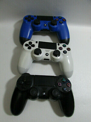 Lot of 3 BROKEN, JUNK Playstation 4 PS4 Controllers Sony FOR PARTS OR SALVAGE