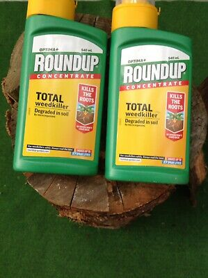 Roundup Concentrate Weedkiller 540ml x2
