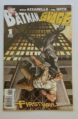 Batman/ Doc Savage 1 (First Wave) RAGS MORALES VARIANT COVER