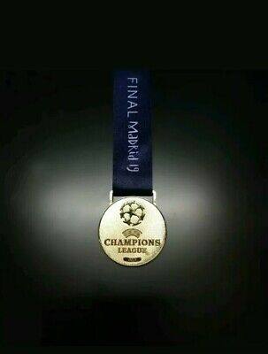 2019 Champions Europe League Winners Replica Medal Madrid