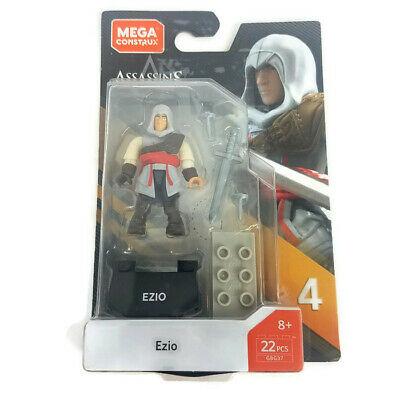 Mega Construx Series 4 Assassins Creed Ezio GBG37 Figure Brand New /& Sealed