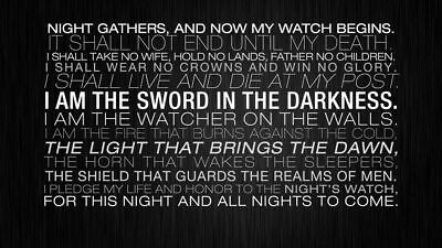 156652 Game Of Thrones GOT Winter Coming Season Wall Poster Print AU