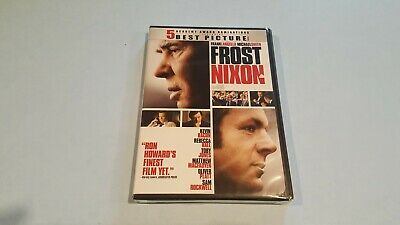 Frost/Nixon (DVD, 2009, Widescreen) New