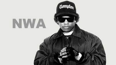 159574 Straight Outta Compton Ice Cube MC Ren HIPHOP Wall Poster Print AU