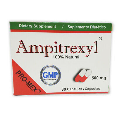 ProMex Ampitrexyl Natural Antibiotic, Dietary Supplement 500 mg, 30 Caps.