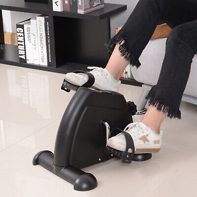Soozier Portable Mini Pedal Exercise Bike Indoor Cycle Fitness Arm Leg w/ LCD