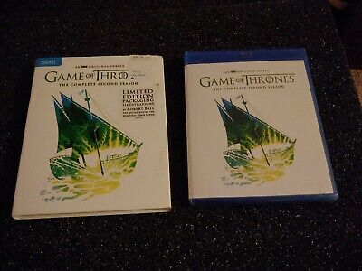 Game of Thrones: Complete Second Season 2 (Blu-ray Disc + Digital) Special Art