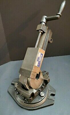 """Nice STM 3 Axis Swivel Tilting Vise 3"""" w/ Removable Jaws 3 Way Machinist Tool"""