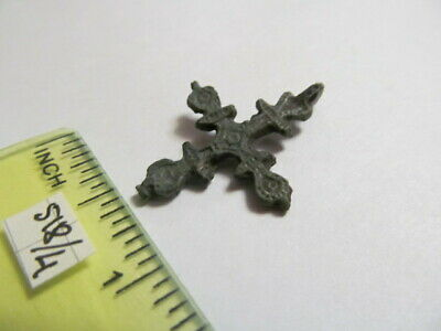 Ancient bronze cross Kievan Rus Vikings 12-13 AD № 518/4