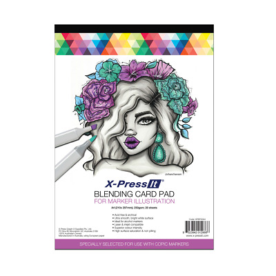 X-Press It Blending Card Pad 20 sht A4