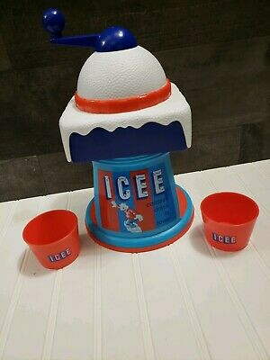 ICEE Manual Crank Ice Shaver Snow Cone Slushy Maker