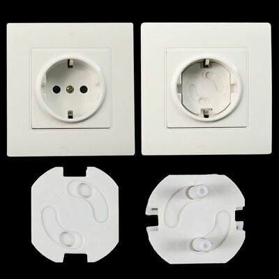 6x  2 Plug Baby Child Infant Kids Plug Covers Safety Power Electric Outlet In UK