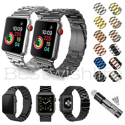 Milanese Metal Steel Link Watch Band Strap for Apple Watch Series 4/3/2/1 38-44