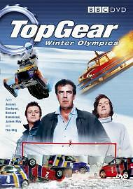 TOP GEAR: WINTER OLYMPICS DVD FILM (2006) BRAND NEW & SEALED (BBC) 2000s RARE
