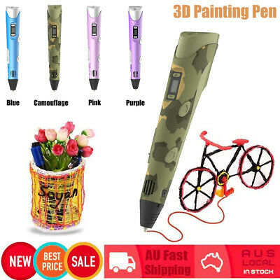 Digital Intelligent 3D Printing Pen High Temperature 3D Graffiti Painting Pens