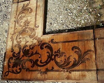 Castle Villa Parquet Baroque Rococo Inlaid Renovation Historical