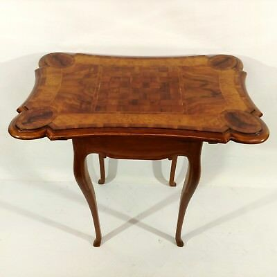 Baroque Rococo Table Chess Table Game Table Side Table Furniture South German