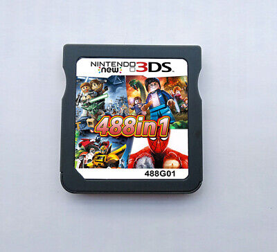 488 In1 3DS DS Video Game Cartridge Card Game Console Multi Cart
