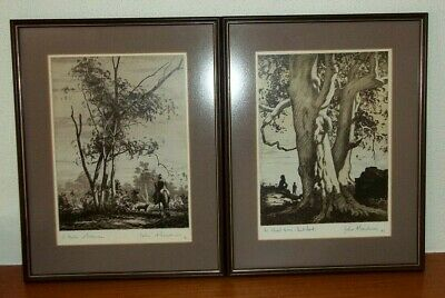 Pair of Signed Prints , by Listed Artist , John A Gardner , 1906 - 1987