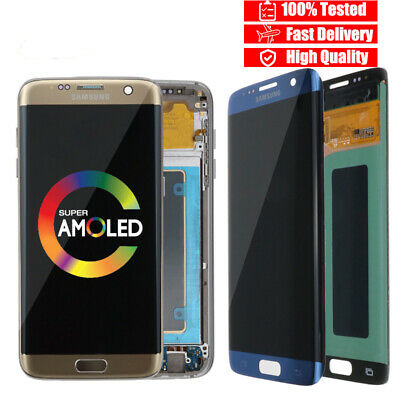 For SAMSUNG Galaxy S7 edge LCD Display G935 G935F G935A Touch Digitizer Part Lot