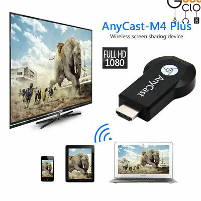 AnyCast M4 Plus WiFi Display Receiver Airplay Miracast HDMI TV DLNA 1080P