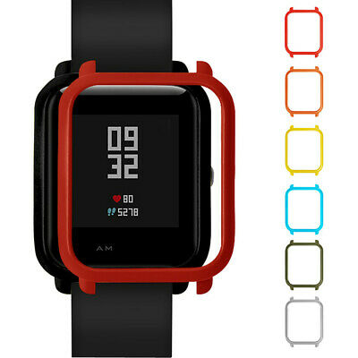 Colorful PC Case Cover Protect Shell For Xiaomi Huami Amazfit Bip Youth Watch UK