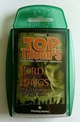 Top Trumps LOTR Fellowship Of The Ring 2002 NM/M