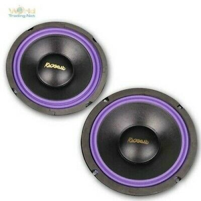 Subwoofer by Rockwood, 165/200mm 4Ohm, Woofer Bass Recessed Speakers