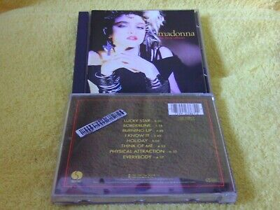 Madonna the first album sehr gut aus Sammlung