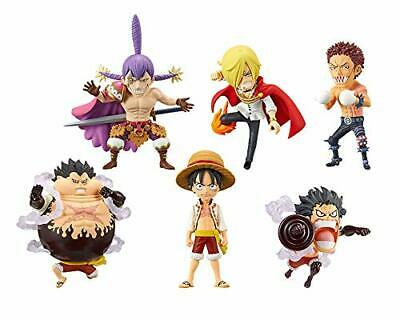One Piece World Collectable Figure WCF Battle of Luffy Whole Cake Island Set