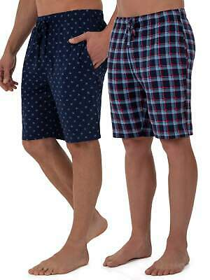Fruit of the Loom Men's Beyondsoft 2-pack Knit Sleep Shorts Size Small, Med, 2XL