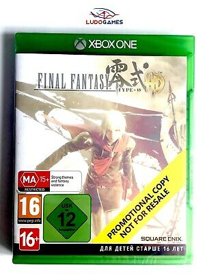Final Fantasy HD Type Xbox One Nuevo Precintado Retro Sealed Promo New PAL/EUR