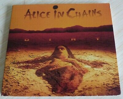 Cd Album Digpack Dirt Alice In Chains 12 Titres 2001