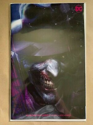 Batman Who Laughs #5 Francesco Mattina Virgin Variant