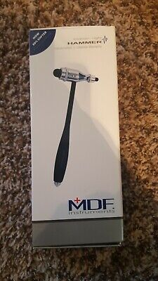 MDF® Tromner Neurological Reflex Hammer with Built in Brush. Model MDF555P-11
